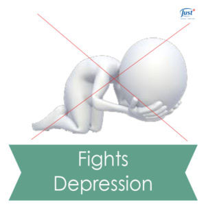 Fights depression